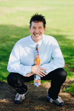 a picture of dr hagstrom sitting in La Mesa California